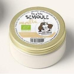 Semoule  au lait vanille bio 160g