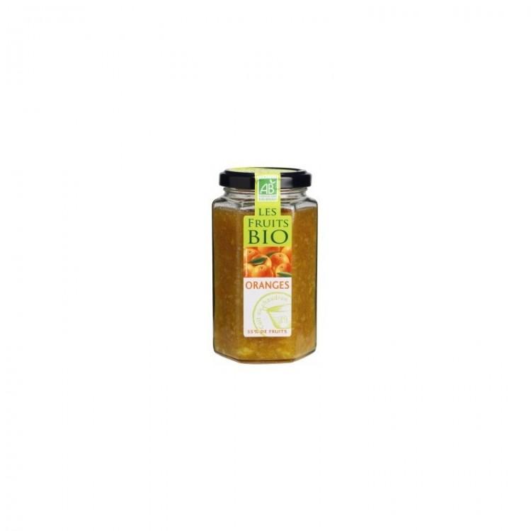Confiture d'orange cuite au chaudron bio